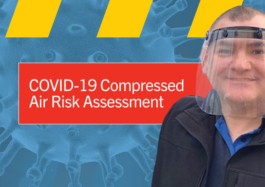 The Risk of COVID in Compressed Air thumbnail image